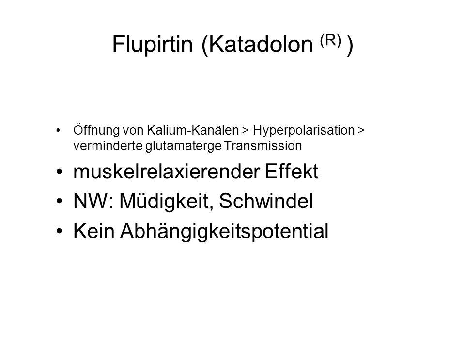 Flupirtin (Katadolon (R) )