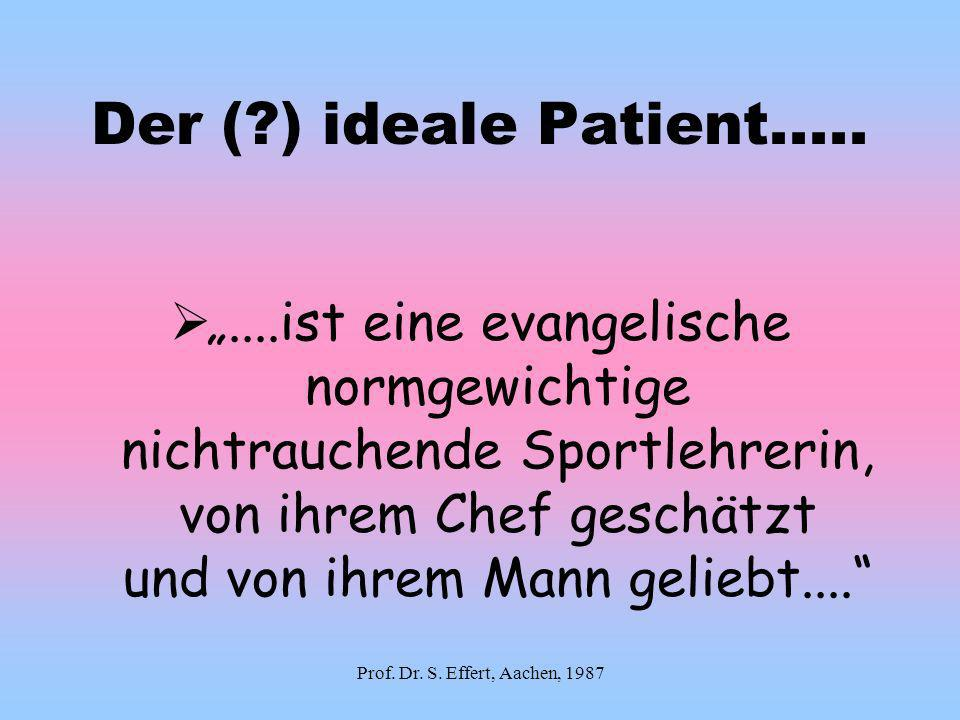 Der ( ) ideale Patient.....