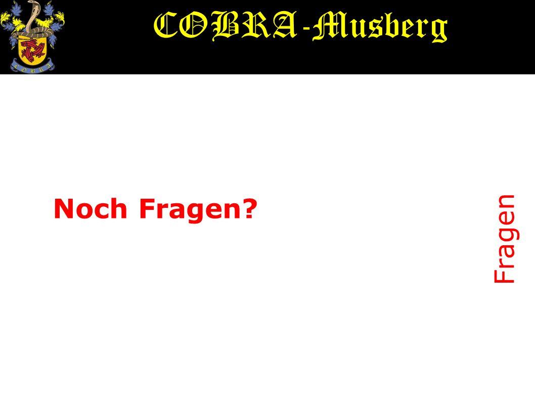 COBRA-Musberg Noch Fragen Fragen