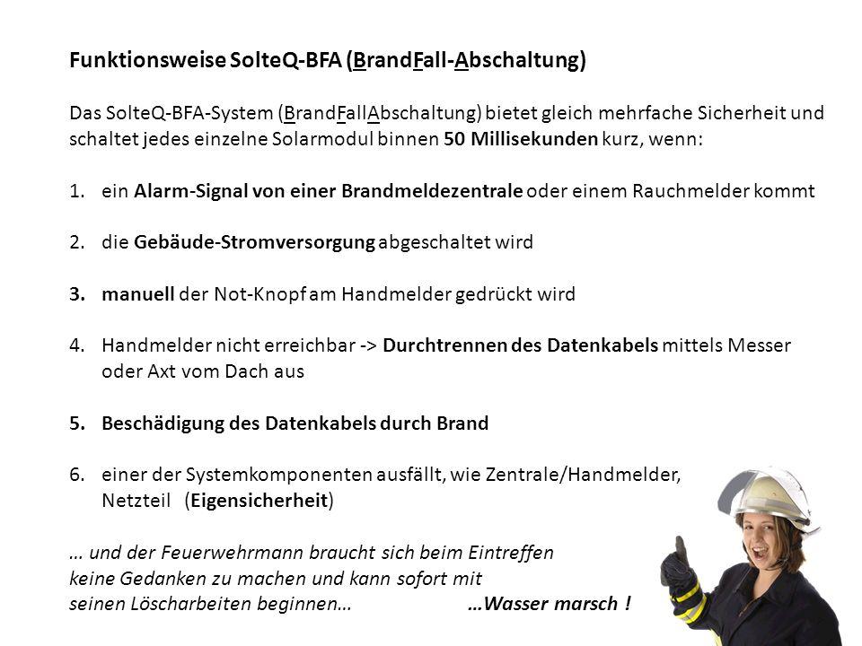 Funktionsweise SolteQ-BFA (BrandFall-Abschaltung)