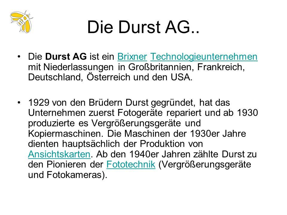 Die Durst AG..