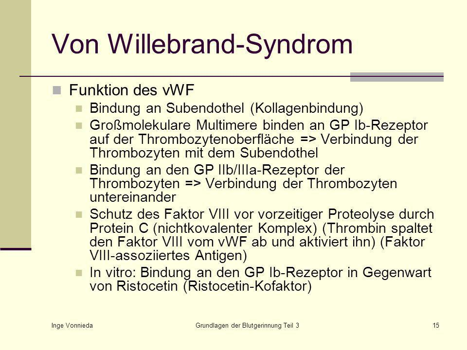 Von Willebrand-Syndrom