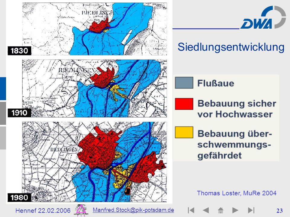 Siedlungsentwicklung