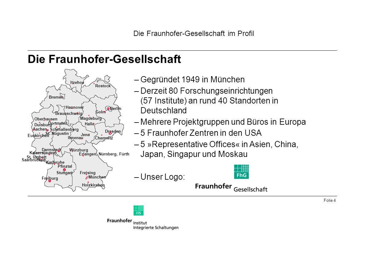Die Fraunhofer-Gesellschaft