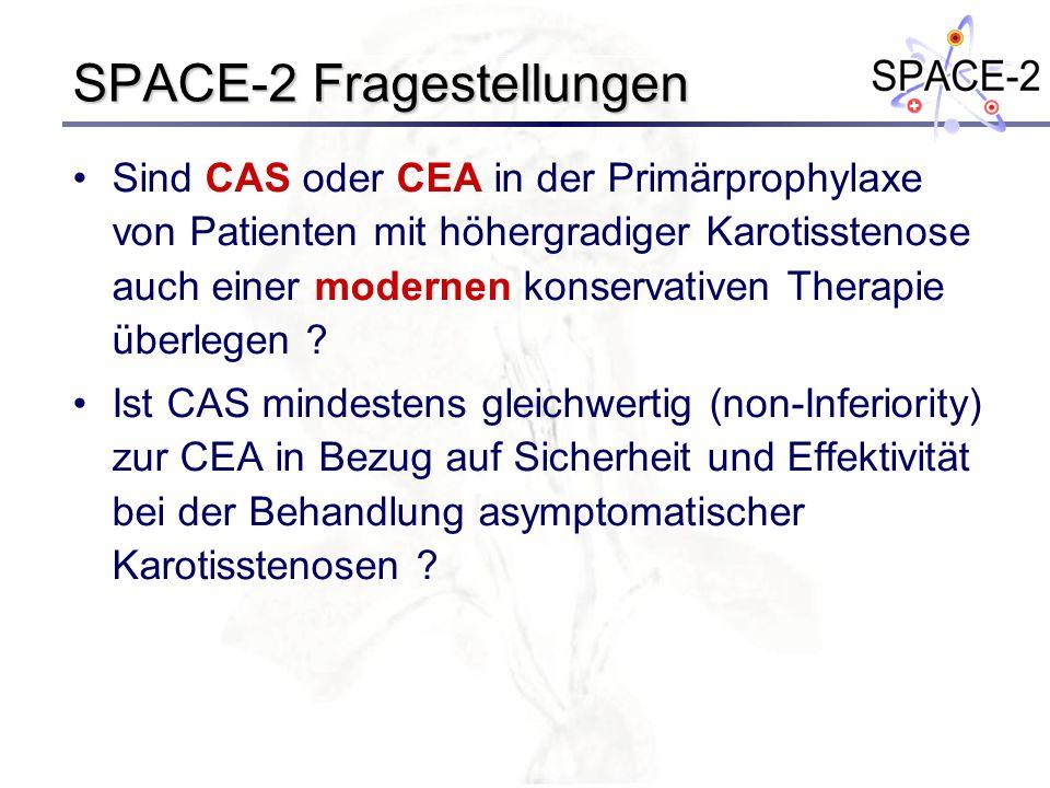 SPACE-2 Fragestellungen