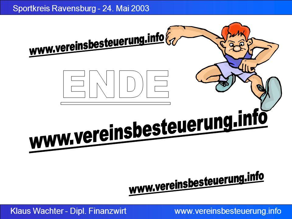 ENDE www.vereinsbesteuerung.info www.vereinsbesteuerung.info