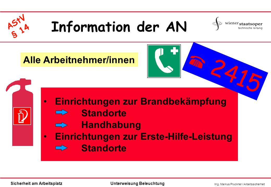  2415 Information der AN Alle Arbeitnehmer/innen