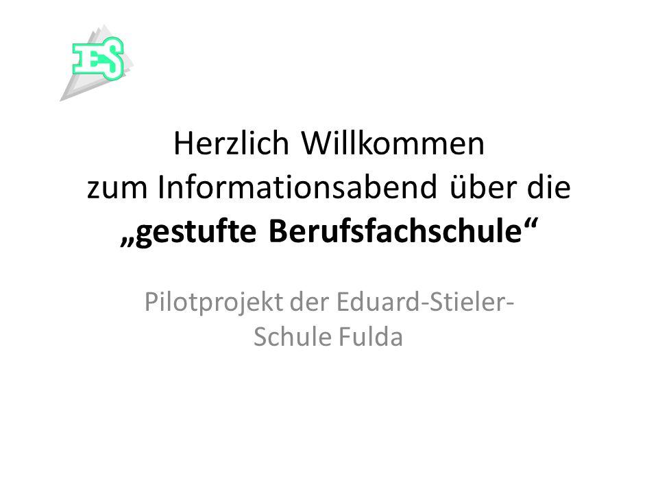 Pilotprojekt der Eduard-Stieler-Schule Fulda