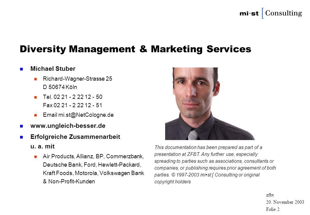 Diversity Management & Marketing Services