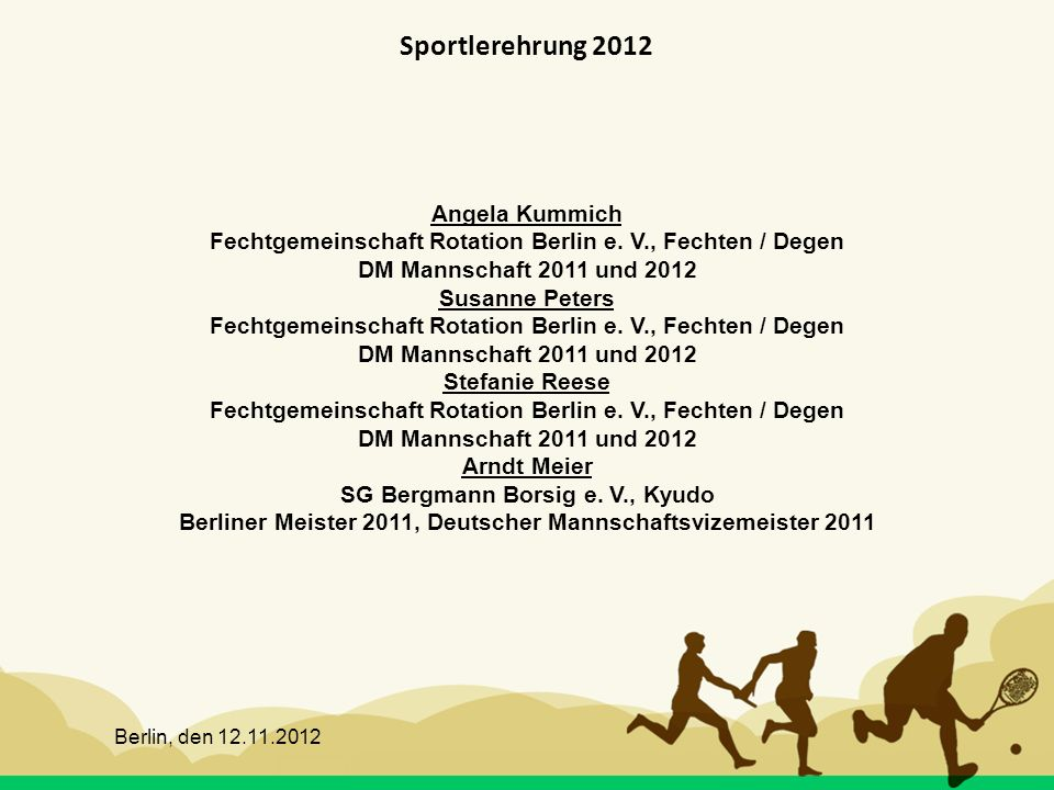 Sportlerehrung 2012 Angela Kummich