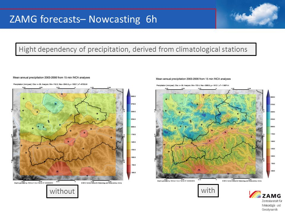 ZAMG forecasts– Nowcasting 6h