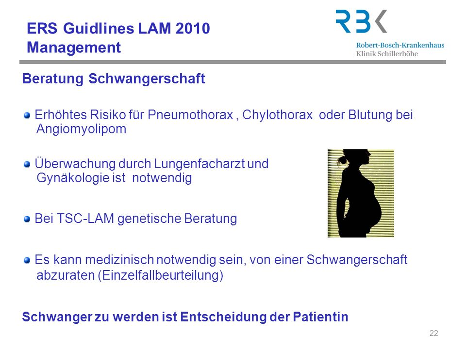 ERS Guidlines LAM 2010 Management