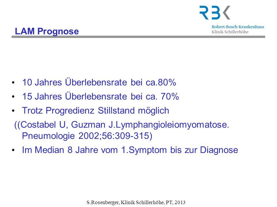 S.Rosenberger, Klinik Schillerhöhe, PT, 2013