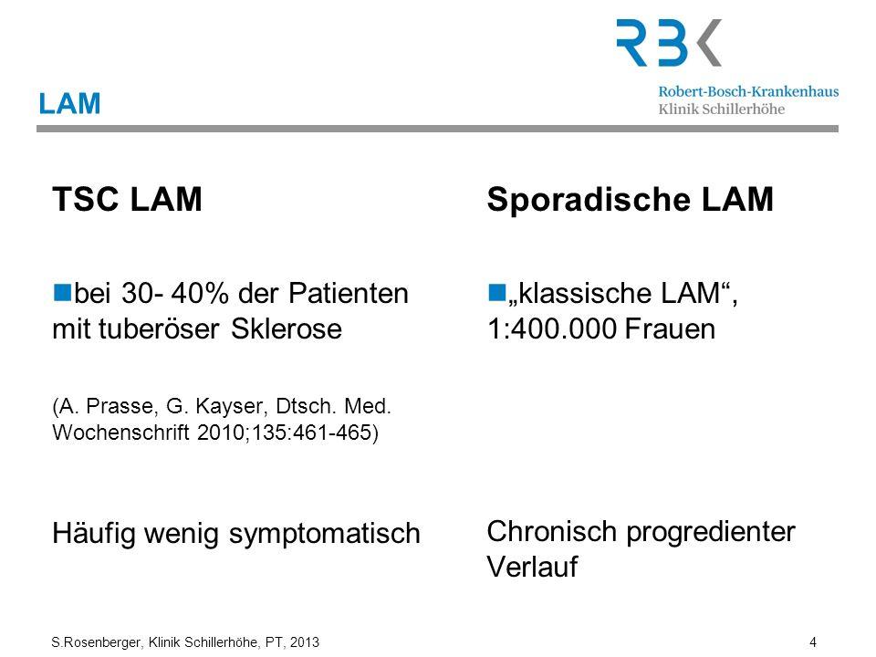 TSC LAM Sporadische LAM LAM