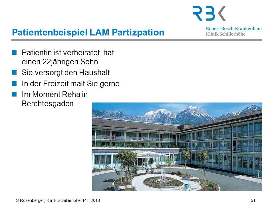 Patientenbeispiel LAM Partizpation