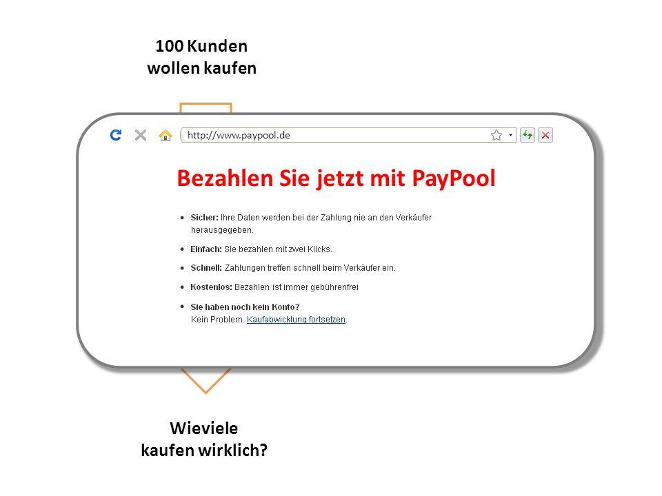 Bezahlen Sie jetzt mit PayPool