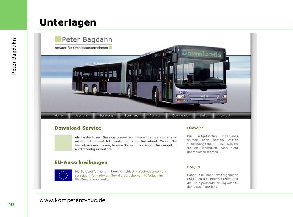 Unterlagen www.kompetenz-bus.de