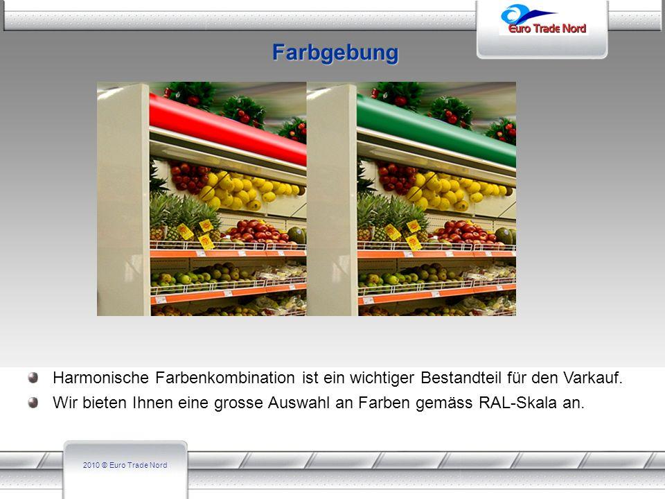 Farbgebung Harmonische Farbenkombination ist ein wichtiger Bestandteil für den Varkauf.