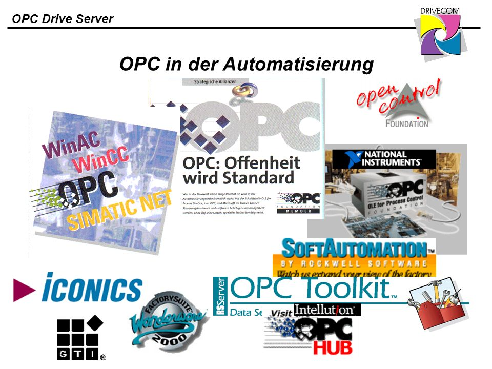 OPC in der Automatisierung