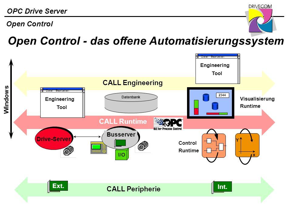 Open Control - das offene Automatisierungssystem