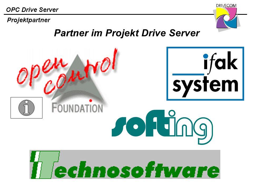 Partner im Projekt Drive Server
