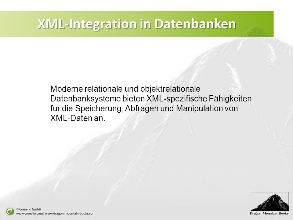 XML-Integration in Datenbanken