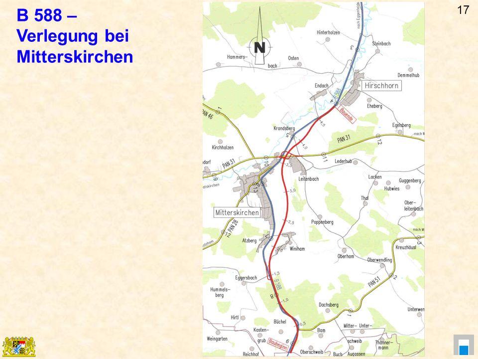 B 588 – Verlegung bei Mitterskirchen