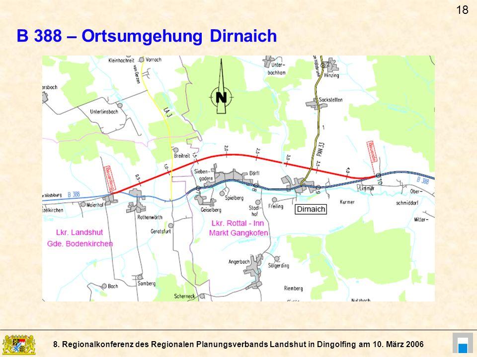 B 388 – Ortsumgehung Dirnaich