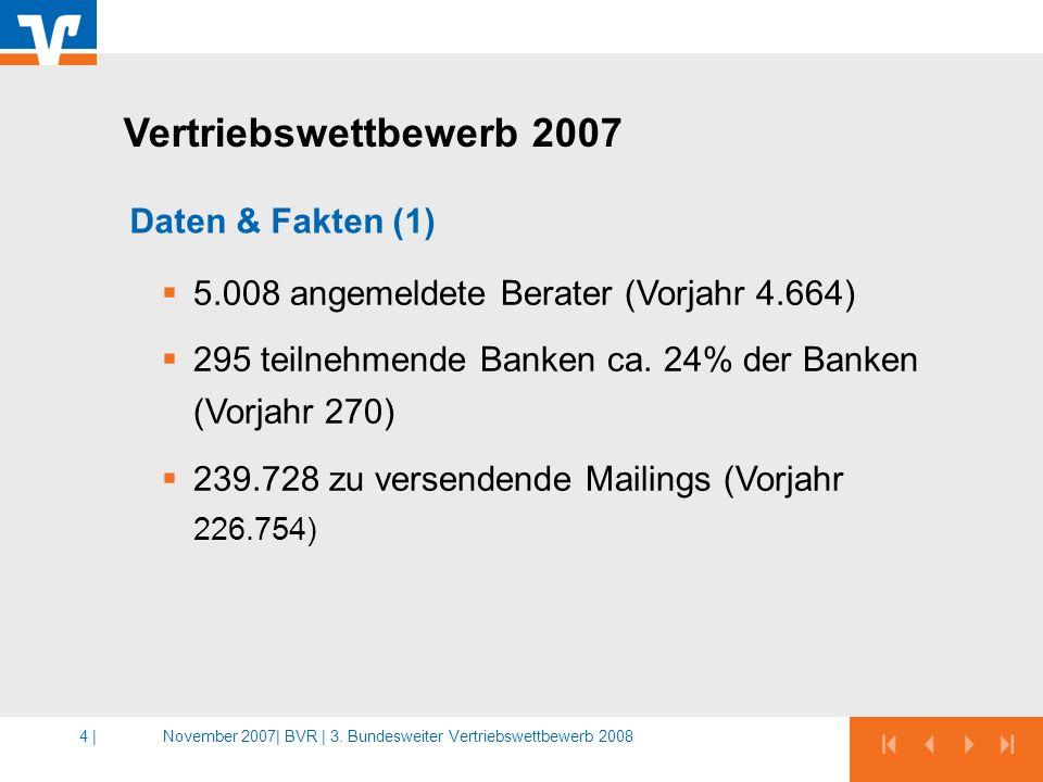 Vertriebswettbewerb 2007 Daten & Fakten (1)
