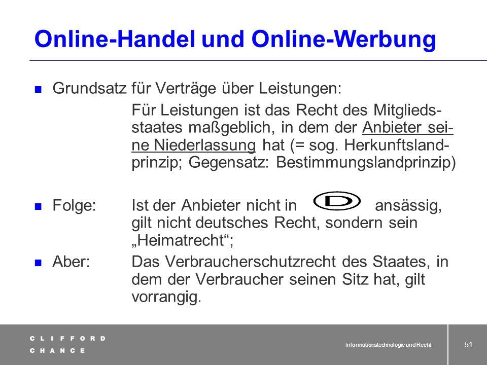 Online-Handel und Online-Werbung