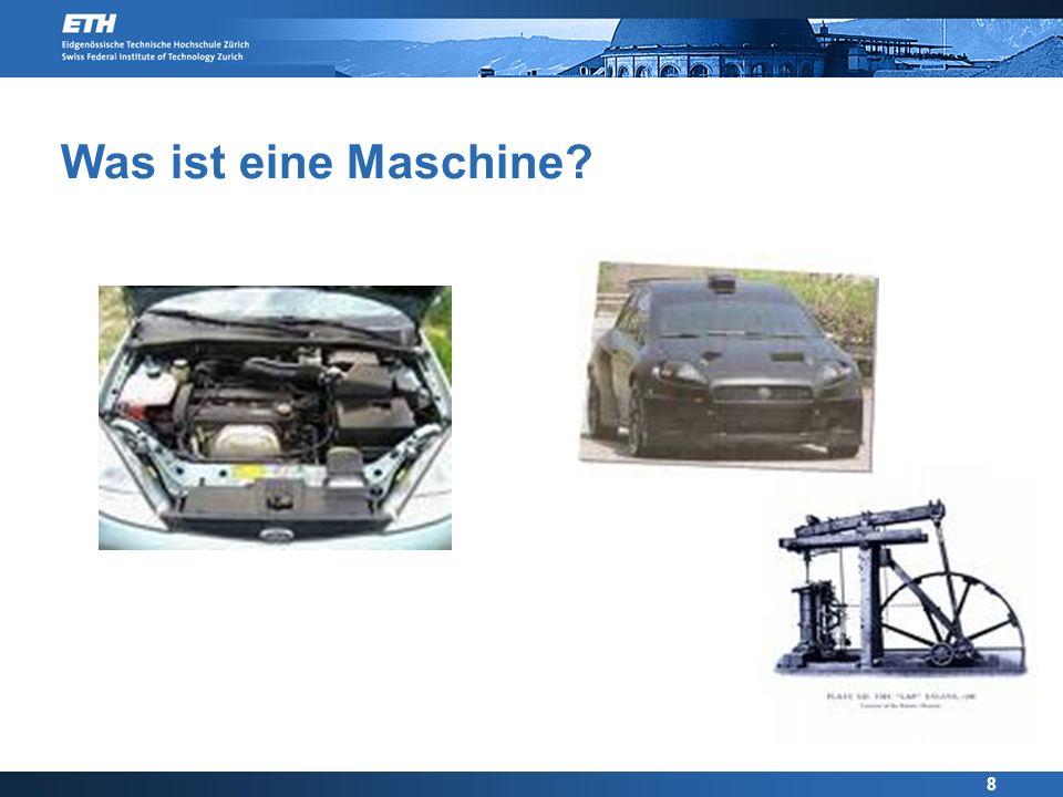 Was ist eine Maschine