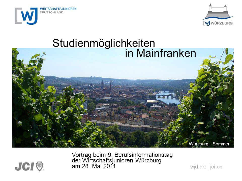 Studienmöglichkeiten in Mainfranken