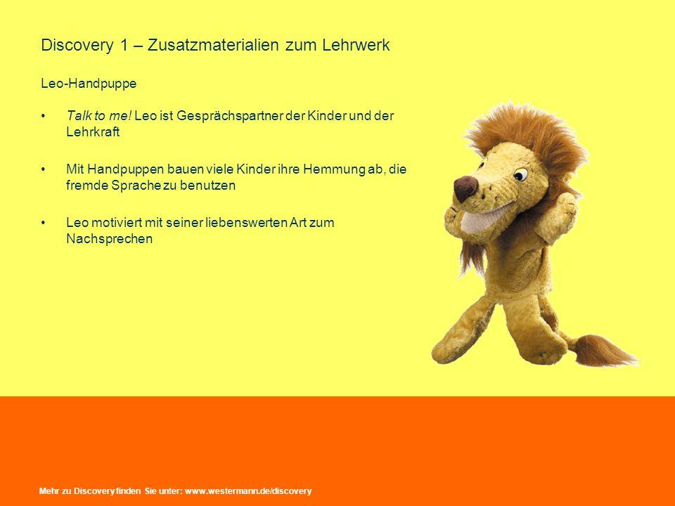 Discovery 1 – Zusatzmaterialien zum Lehrwerk Leo-Handpuppe