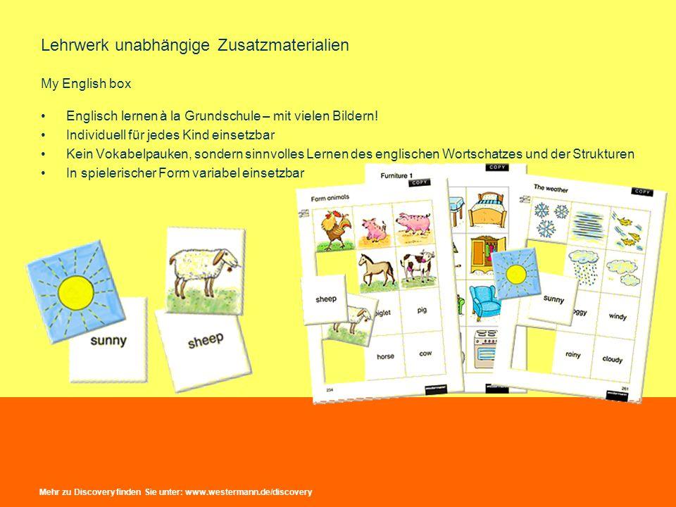 Lehrwerk unabhängige Zusatzmaterialien My English box