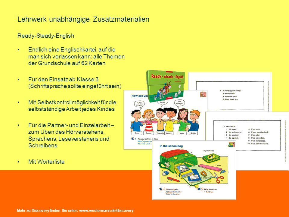 Lehrwerk unabhängige Zusatzmaterialien Ready-Steady-English