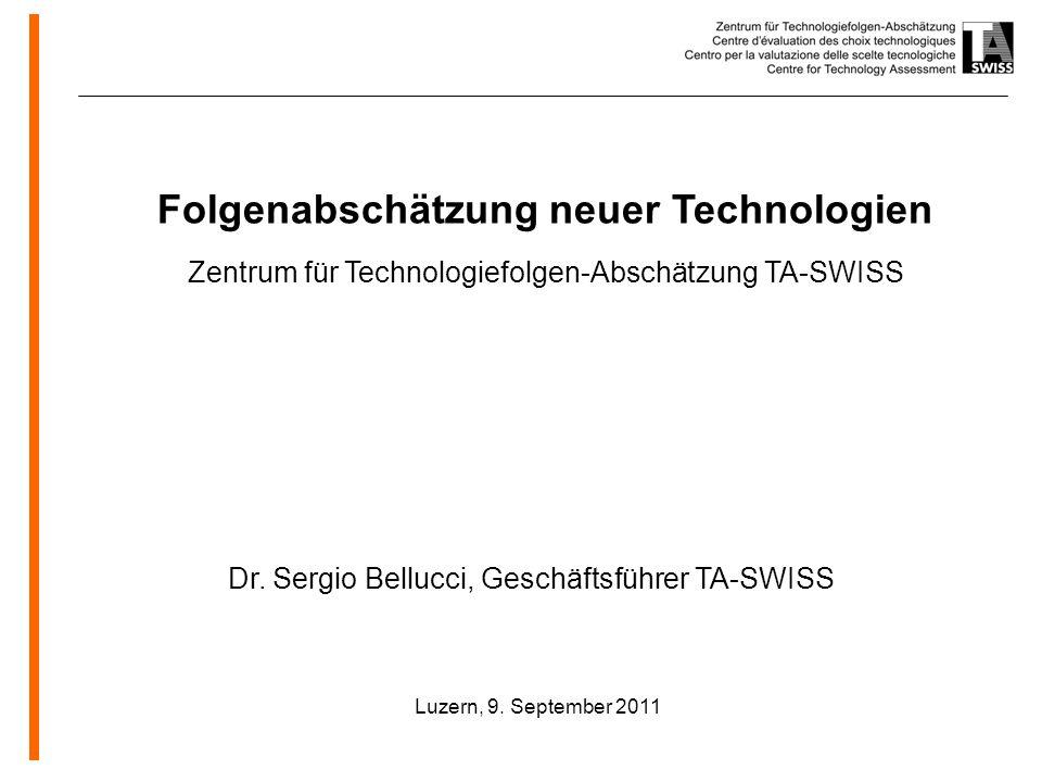 Folgenabschätzung neuer Technologien