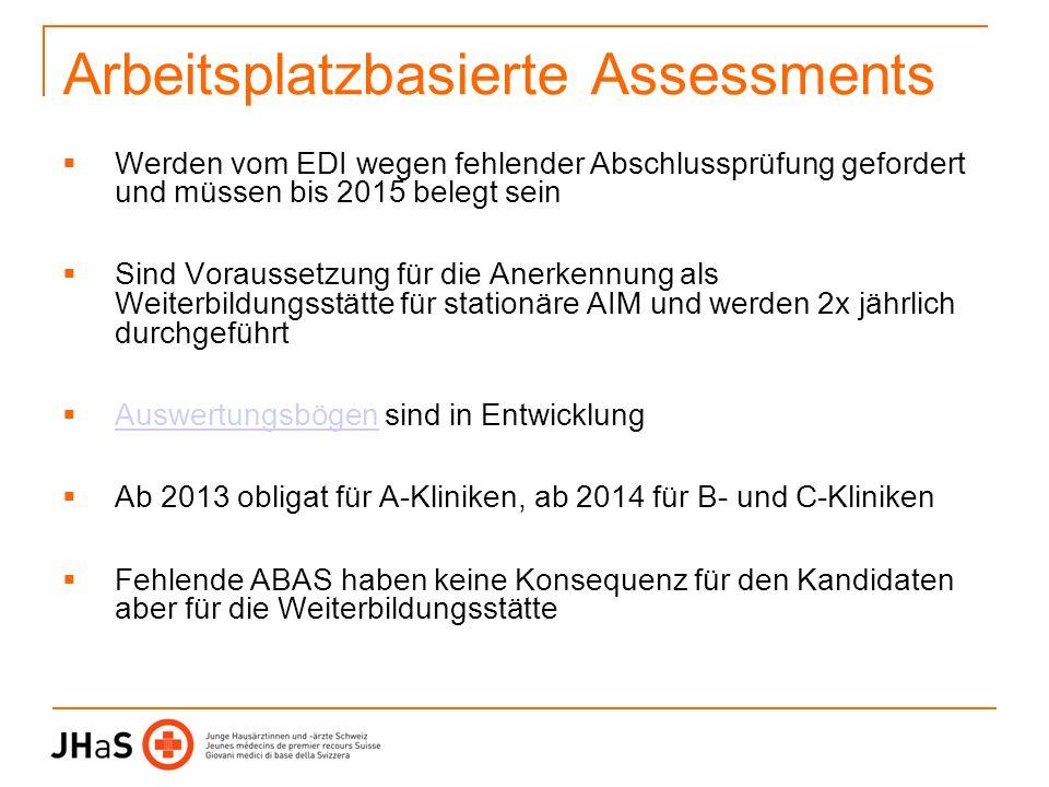 Arbeitsplatzbasierte Assessments