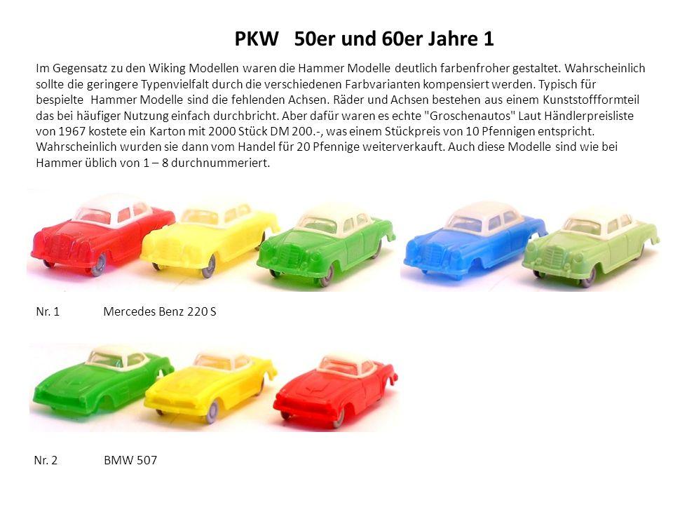 PKW 50er und 60er Jahre 1