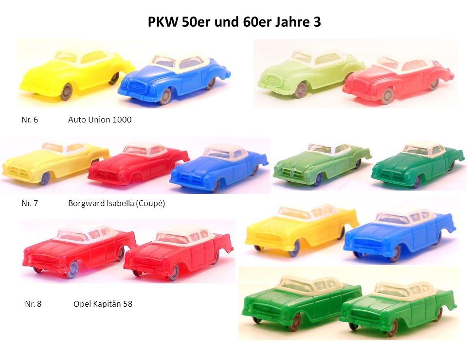 PKW 50er und 60er Jahre 3 Nr. 6 Auto Union 1000
