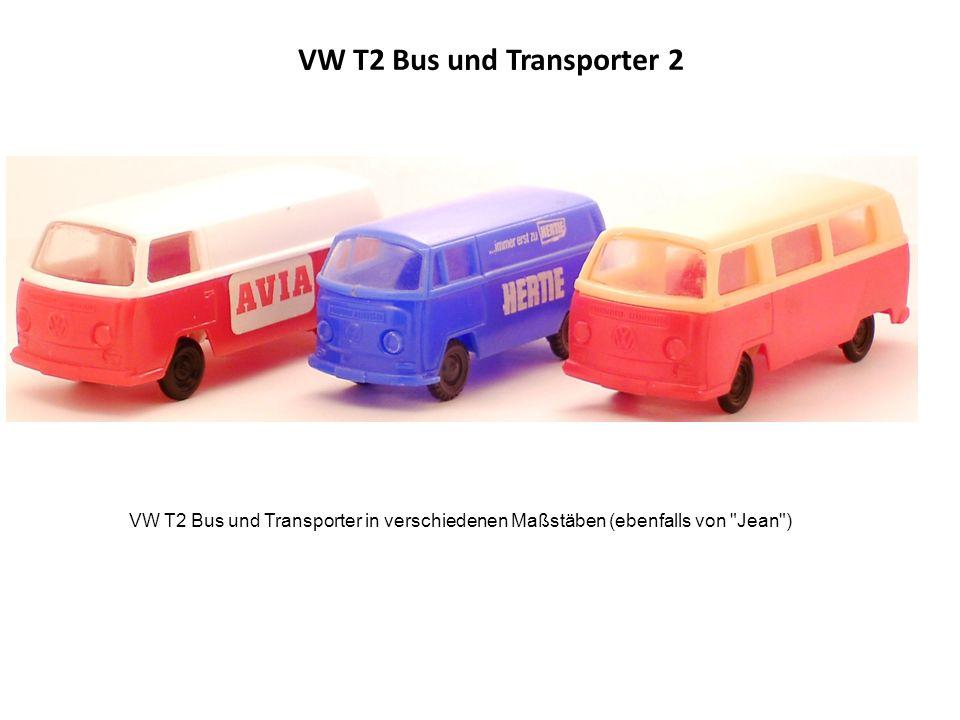 VW T2 Bus und Transporter