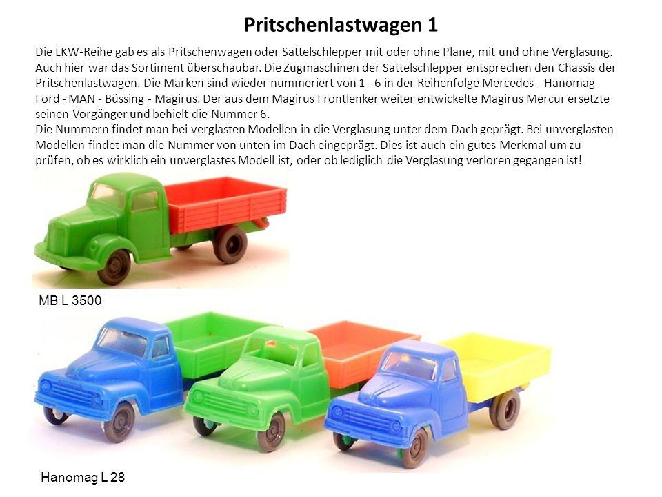 Pritschenlastwagen 1
