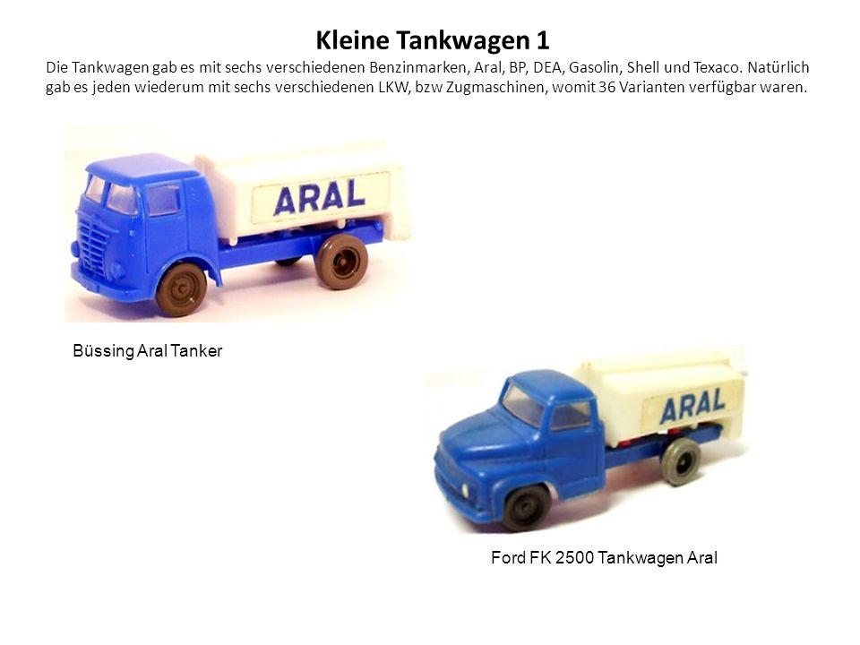 Kleine Tankwagen 1