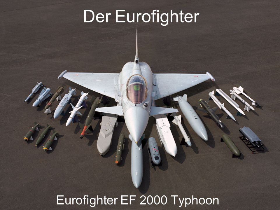 Eurofighter EF 2000 Typhoon