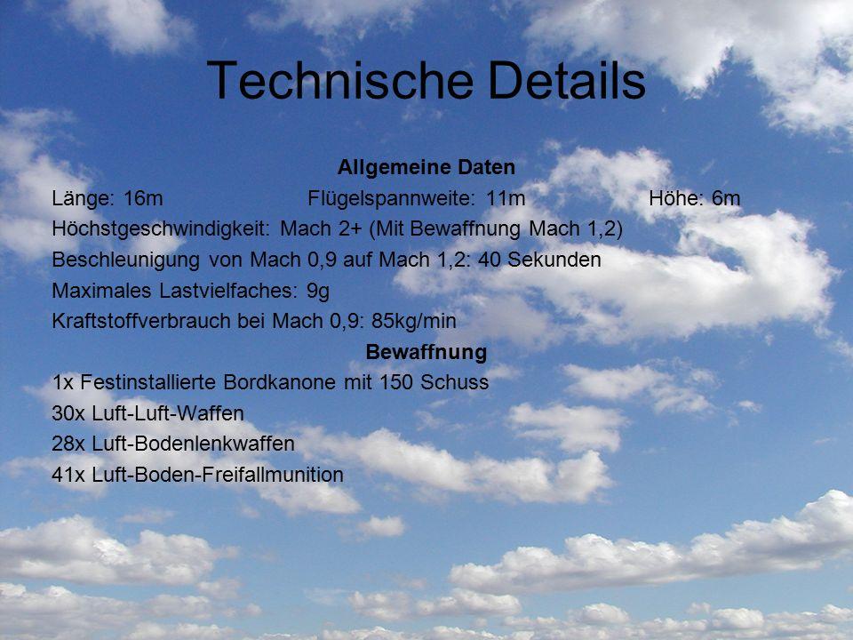 Technische Details Allgemeine Daten
