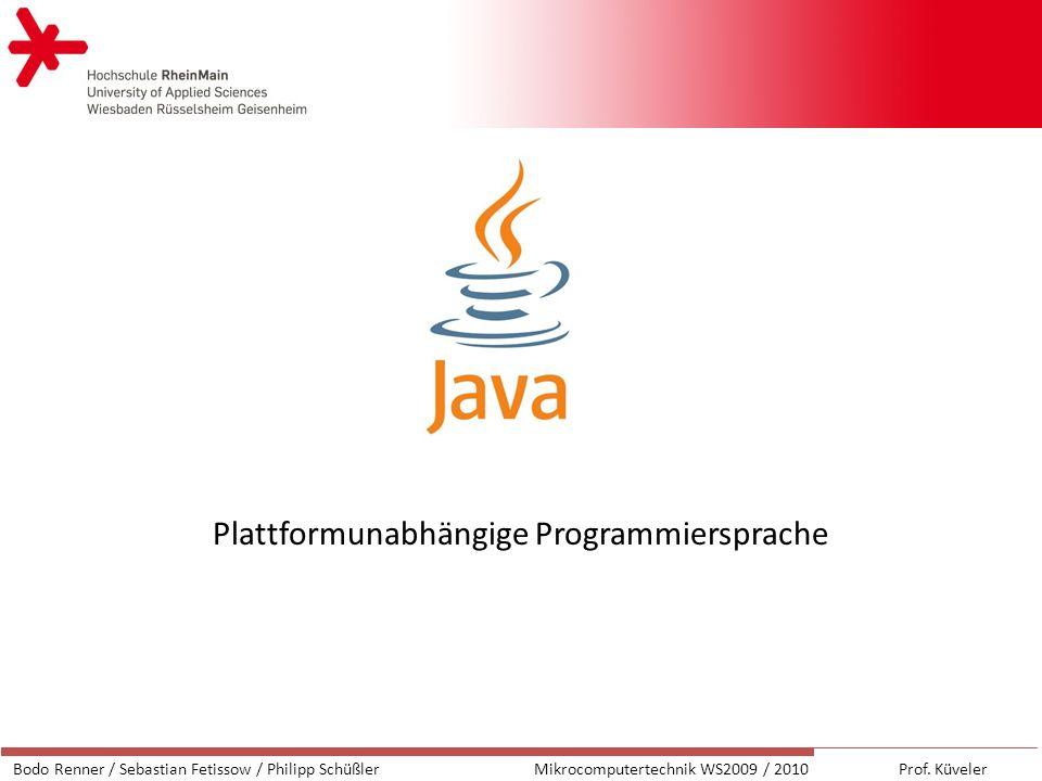 Plattformunabhängige Programmiersprache