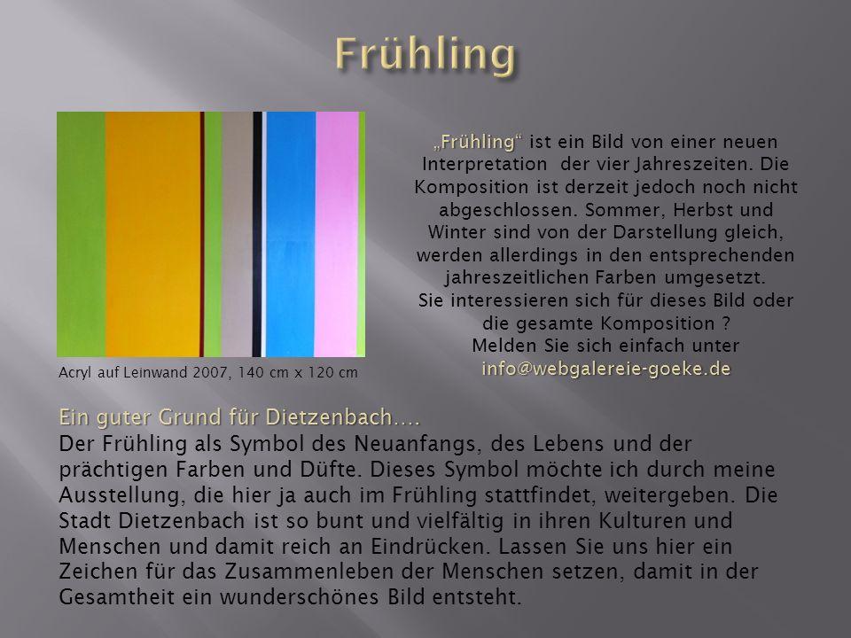 Frühling Ein guter Grund für Dietzenbach….