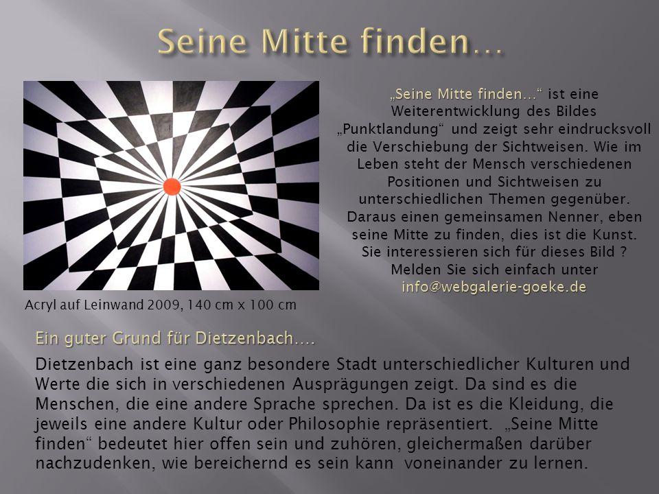 Seine Mitte finden… Ein guter Grund für Dietzenbach….