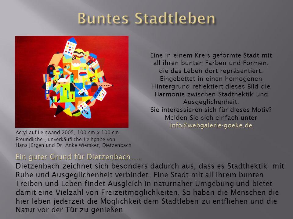 Buntes Stadtleben Ein guter Grund für Dietzenbach….