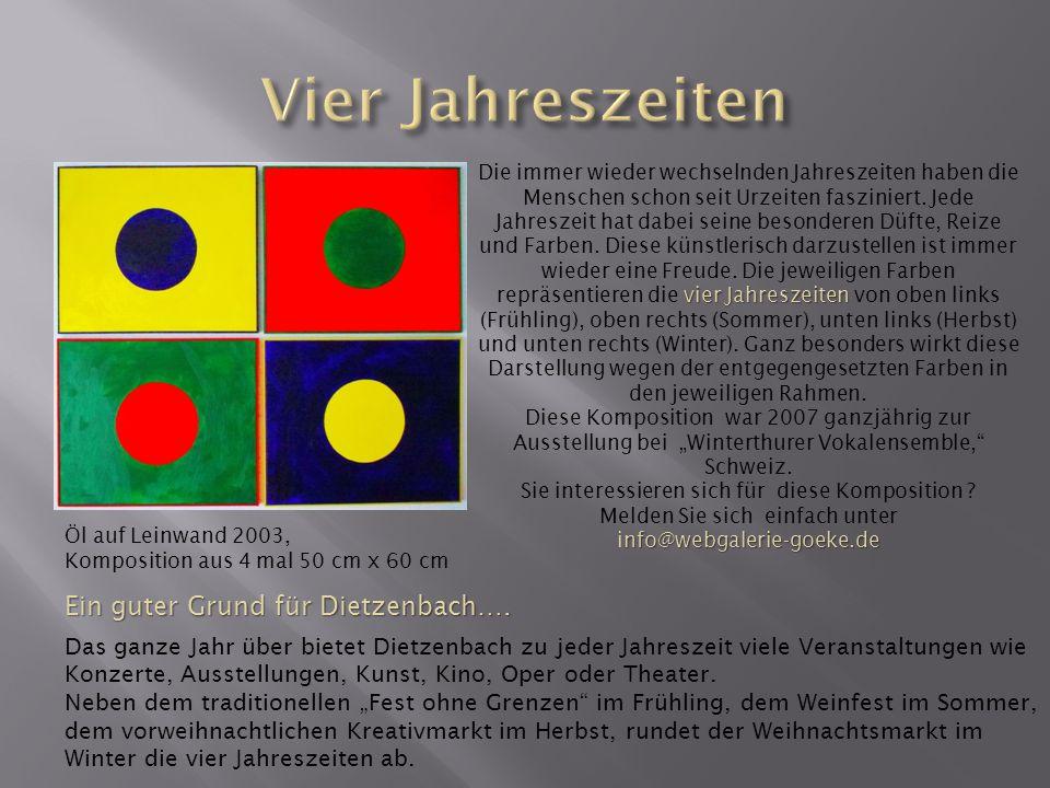 Vier Jahreszeiten Ein guter Grund für Dietzenbach….