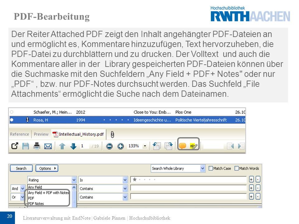 PDF-Bearbeitung